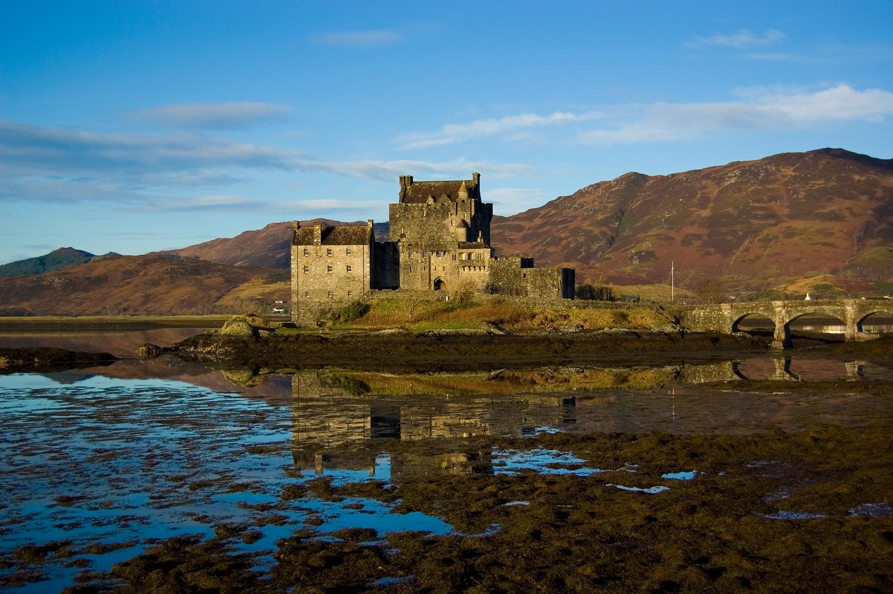 Elean Donan Castle Dudelsack