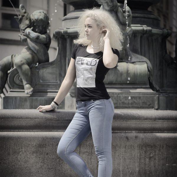 Dudelsack Damen T Shirt