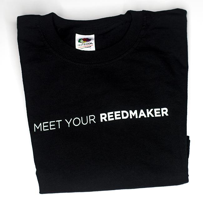 T - Shirt Meet Your Reedmaker, Dudelsack Shirt