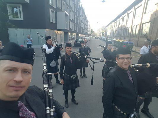 APS. Österreichische Dudelsack Pipe Band